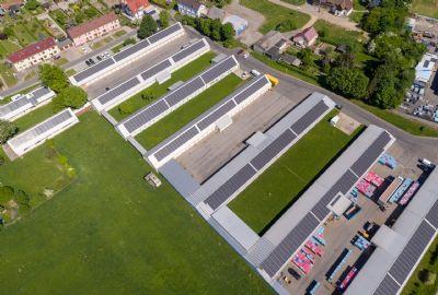 Wilkau-Haßlau Halle, Wilkau-Haßlau Hallenfläche