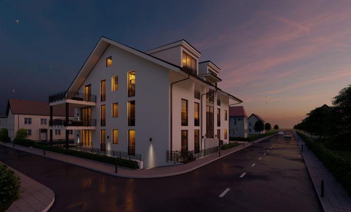 Exklusive Neubau 2-Zimmer Eigentumswohung mit Balkon