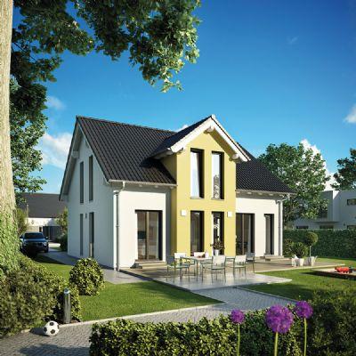 es kann so einfach sein massives fertighaus alles inklusive f r 1040 monat einfamilienhaus. Black Bedroom Furniture Sets. Home Design Ideas
