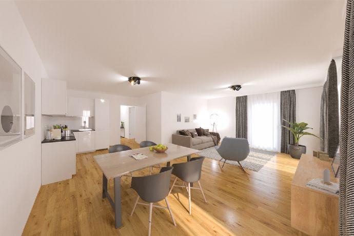Komfortable 3-Zimmer-Eigentumswohnung mit Dachterrasse