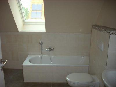 Bad mit Dusche,Vollbad und sep. Gäste-WC