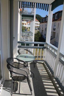 Balkon einer 3-Raumwohnung