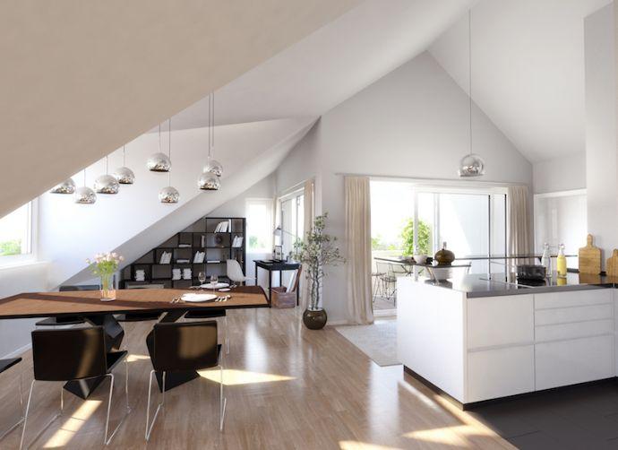 Gemütliche 2 - Zimmerwohnung im Dachgeschoss