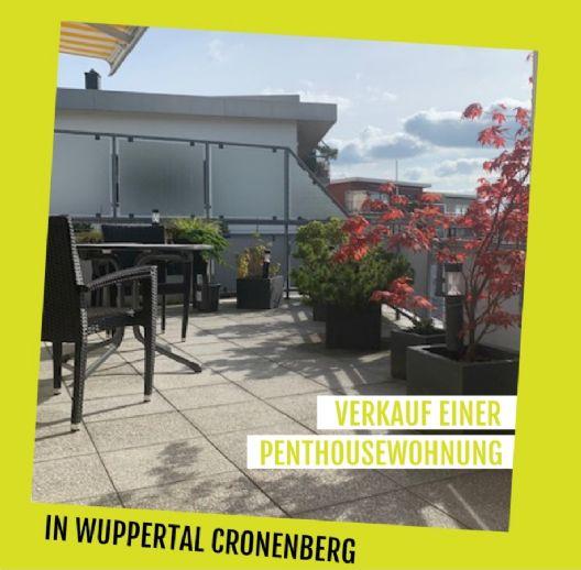 Penthousewohnung in Wuppertal Cronenberg zu