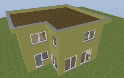 A-Haus 3D Beispiel