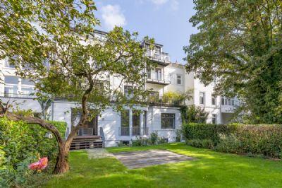 *** Elegante 3-Zi.-Wohnung in histor. Villa mit Elbblick in HH-Altona, keine Maklerprov. ***