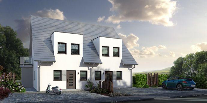 Neubau von Doppelhaushälften in Oberreichenbach - Grundstück und Energiesparhaus zum Toppreis!