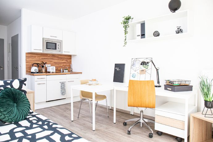 Möbliertes Zimmer im Studentenwohnheim - in Hochschulnähe