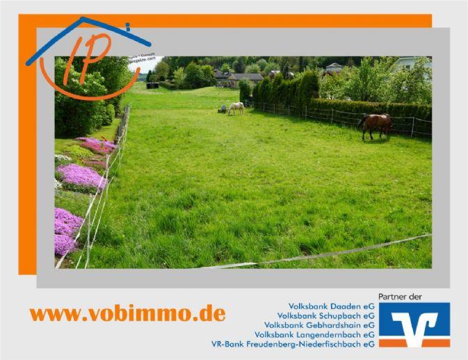 Von IPC: Sie suchen die Nähe zu Rennerod? Ebenes Wohngrundstück in Zehnhausen
