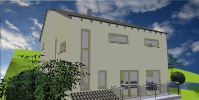 pultdach kfw 40 plus standard einfamilienhaus hohenroth b bad neustadt a d saale 2b7tz42. Black Bedroom Furniture Sets. Home Design Ideas