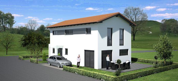 Neubau: Modernes Einfamilienhaus mit optimaler Süd Ausrichtung in Deggendorf / OT Stauffendorf