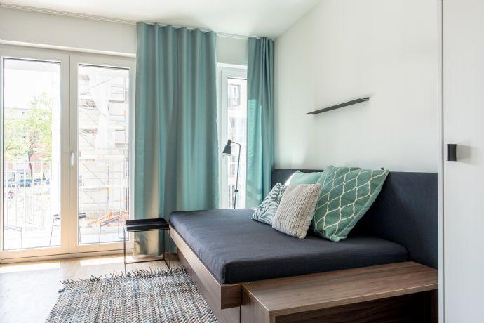 1-Zimmer-Apartment mit West-Balkon
