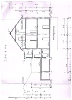 Gebäude-Schnitt