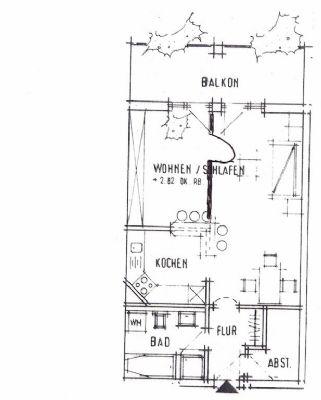zentrumsnahe 2 zi dg wohnung mit sonnigem balkon als kapitalanlage oder zum eigennutz. Black Bedroom Furniture Sets. Home Design Ideas