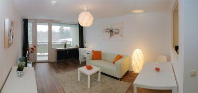 -Sofortiger Einzug möglich - Möblierte 2 Zimmer Wohnung, ca.48qm, mit Südbalkon