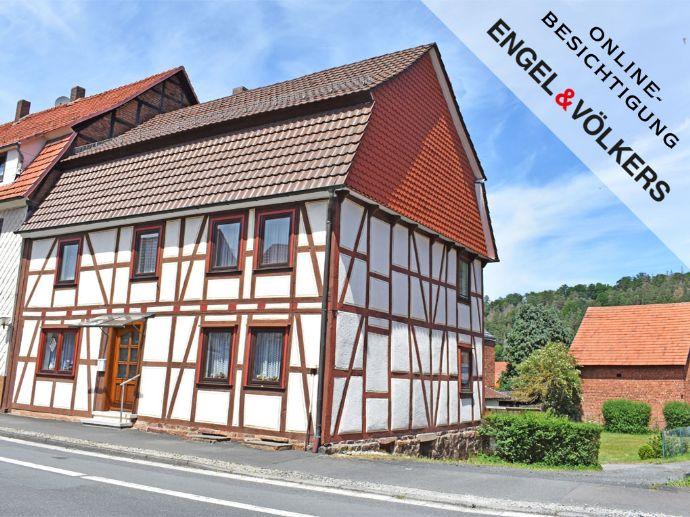 Schönes Fachwerkhaus mit viel Wohnfläche