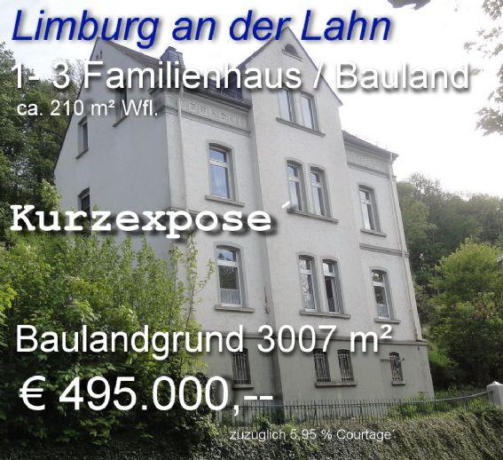 1-3 Familienhaus mit Domblick + großem Baugrundstück / Garten
