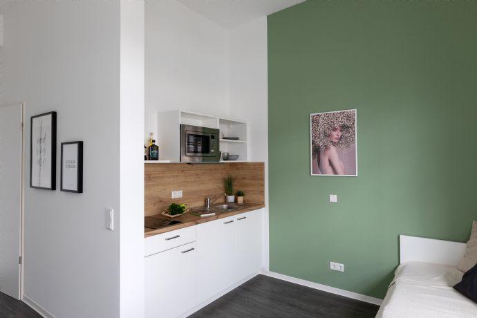 Frühlingsangebot: möbliertes  Einzimmerapartment  in Düsseldorf Rath