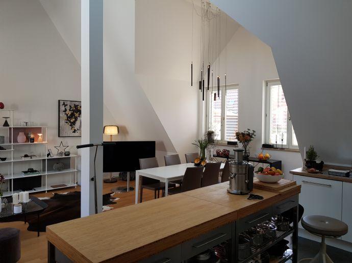 Penthouse in der Weißgerbergasse