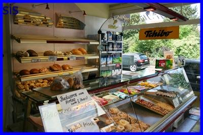 Verkaufsraum Bäckerei