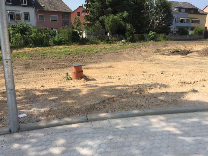 Baugrundstück mit Baugenehmigung für eine KfW-Effizienzhaus 55 Doppelhaushälfte