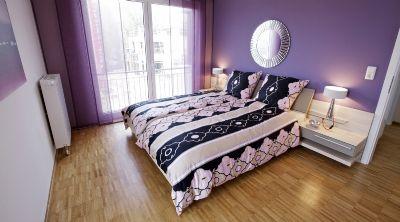Schlafzimmer Musterhaus