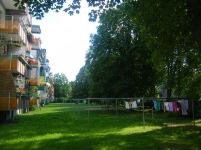 Garten und Wäscheplatz