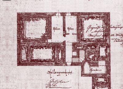 Original Planung Keller