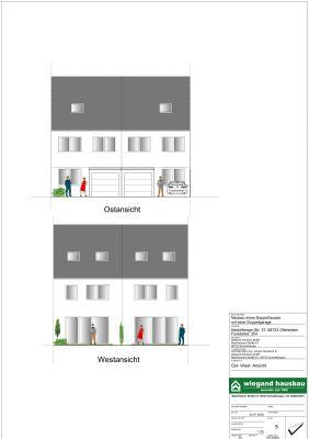 Abbruch - Baugrundstück mit Baugenehmigung für zwei Doppelhaushälften