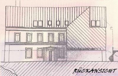 Planung zur Bauanzeige 97: Ansicht 4