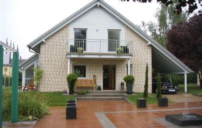 Wintergartenhaus mit Klinker