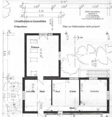 Grundriss Erdgeschoss Haus 2