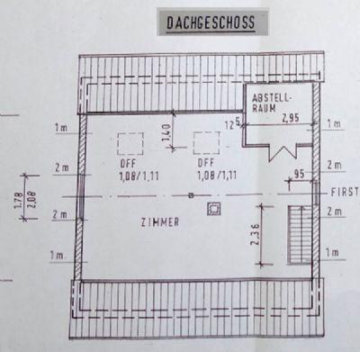 Plan Dachgeschoss