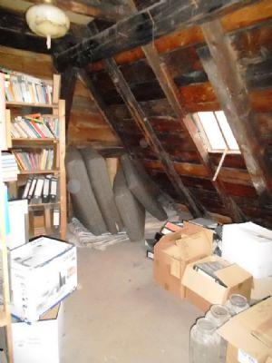 Dachboden mit Ausbau- und Staureserve