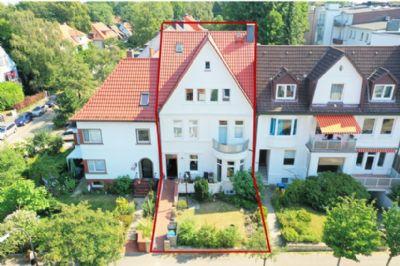 Charmante Stadtvilla in bevorzugter Wohnlage in Hamburg/Harburg - Heimfeld