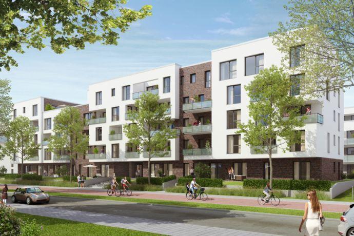 Familienfreundlich mit großem Wohn-Ess-Bereich und Balkon. Energetisch optimiert.