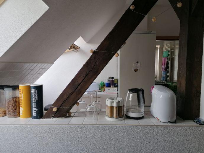 Gemütliche 2 Zimmer Dachgeschoßwohnung mit Gartennutzung