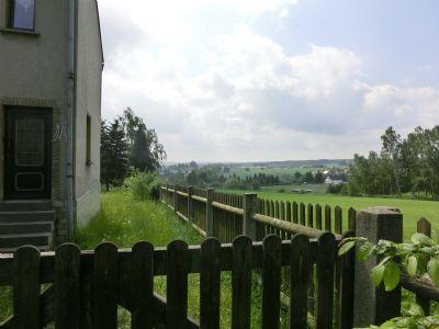Blick zum Ortsteil Märien