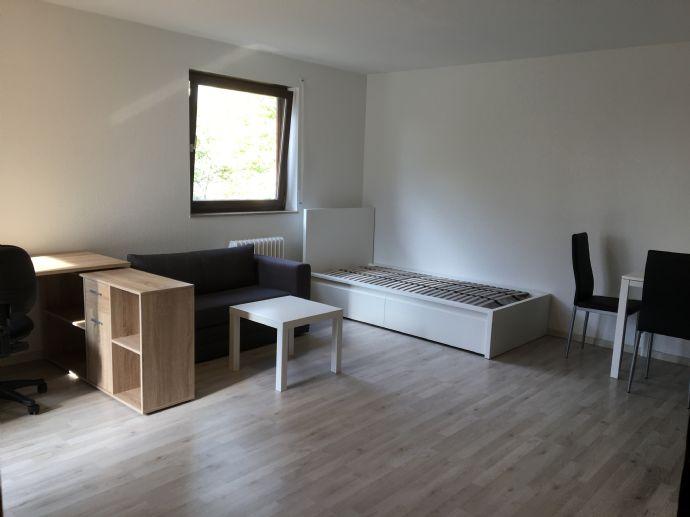 Möblierte 1 Zimmer Wohnung mit Balkon und separater Küche nahe Probstsee