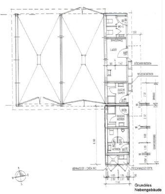 Grundriss Nebengebäude
