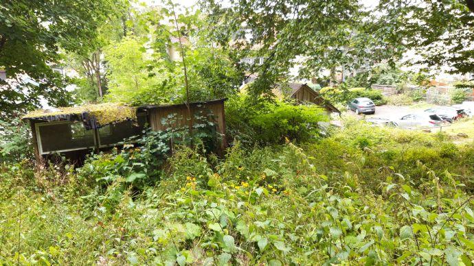 Grundstück an Waldrand