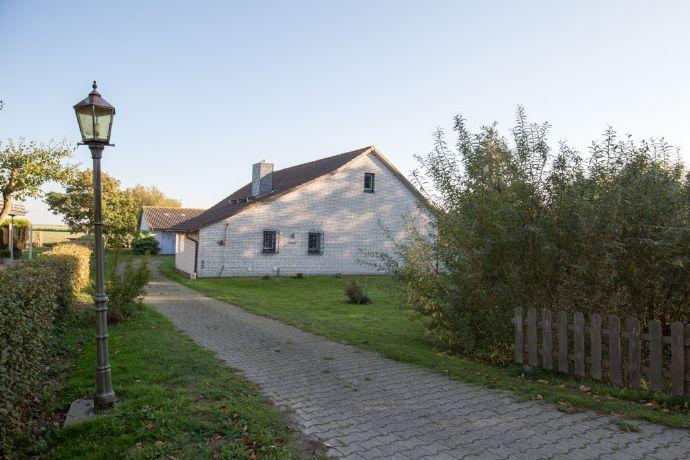 Urlaubsinsel Pellworm: Einfamilienhaus mit Garten für angenehme Stunden