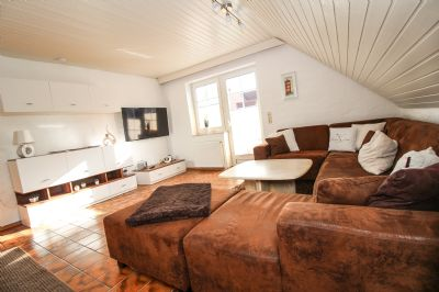 Ferienwohnung Muckelstuuv in Greetsiel - Modernisierte Ferienwohnung im Obergeschoss für bis zu 2 Personen mit Hund.