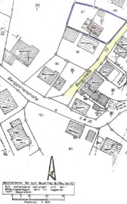 Baugrundstück für 2 -3 Doppelhäuser in guter und zentraler Lage von Leinzell!