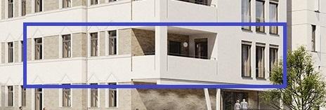 Erstbezug nach Sanierung - großzügiges, modernes Wohnen! Sanierungs-AfA -downtown 55- in der Brühlervorstadt! individuell und Südbalkon