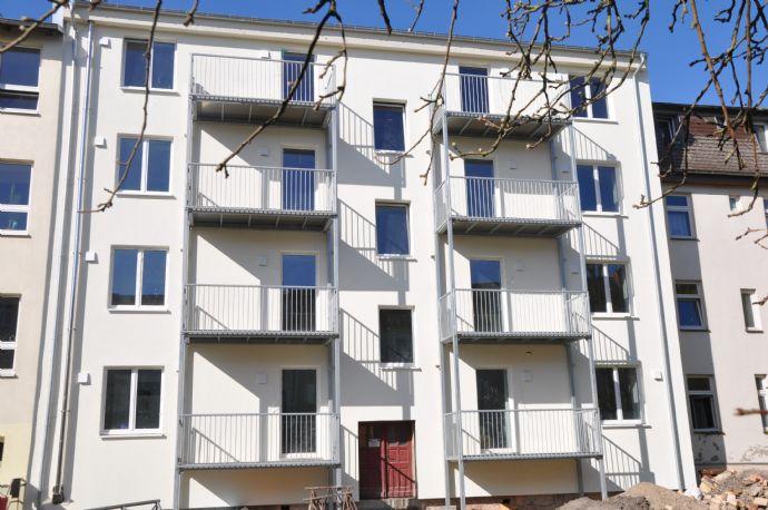 Erstbezug, Große 1 Raumwohnung mit Balkon, Fußbodenheizung PP.