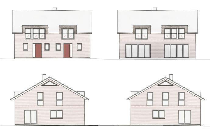 Neubau Doppelhaushälften in Brunsbek