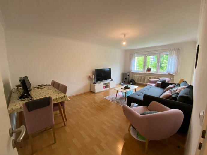 Schöne 2-Zimmer-Wohnung in Dietzenbach mit Balkon, EBK und Kellerabteil ab 1.8. zu vermieten.