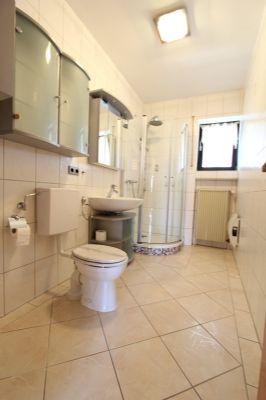 Duschbad der Hauptwohnung