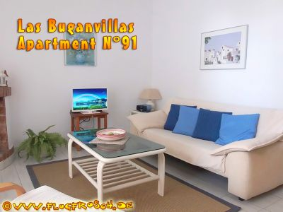 Las Buganvillas *** Beach Apartment N° 91